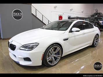 2016 BMW M6 Gran Coupe; White, Competition Pack, 1.5k Miles Sedan