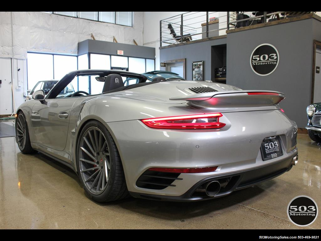 2017 Porsche 911 Turbo Cabriolet; GT Silver w/ 4k Miles! - Photo 3 - Beaverton, OR 97005