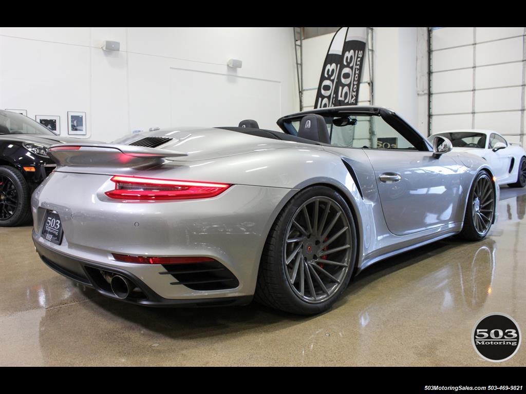 2017 Porsche 911 Turbo Cabriolet; GT Silver w/ 4k Miles! - Photo 5 - Beaverton, OR 97005