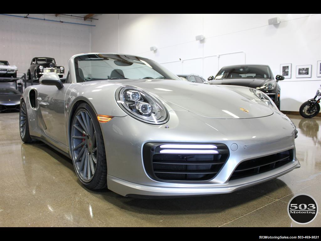 2017 Porsche 911 Turbo Cabriolet; GT Silver w/ 4k Miles! - Photo 8 - Beaverton, OR 97005