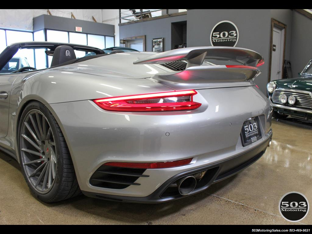 2017 Porsche 911 Turbo Cabriolet; GT Silver w/ 4k Miles! - Photo 13 - Beaverton, OR 97005