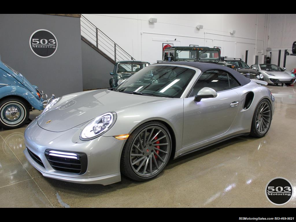 2017 Porsche 911 Turbo Cabriolet; GT Silver w/ 4k Miles! - Photo 26 - Beaverton, OR 97005