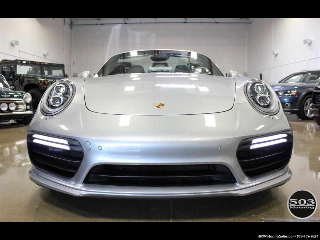 2017 Porsche 911 Turbo Cabriolet; GT Silver w/ 4k Miles! - Photo 12 - Beaverton, OR 97005
