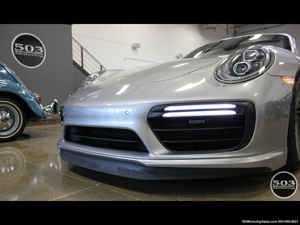 2017 Porsche 911 Turbo Cabriolet; GT Silver w/ 4k Miles! - Photo 18 - Beaverton, OR 97005