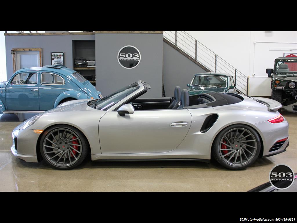 2017 Porsche 911 Turbo Cabriolet; GT Silver w/ 4k Miles! - Photo 2 - Beaverton, OR 97005