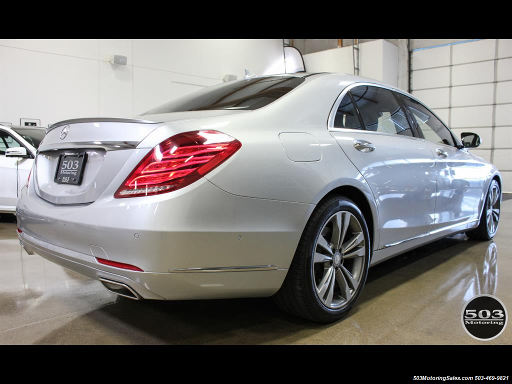 2014 Mercedes-Benz S550; One Owner Iridium Silver/Black w/ 38k Miles! - Photo 5 - Beaverton, OR 97005