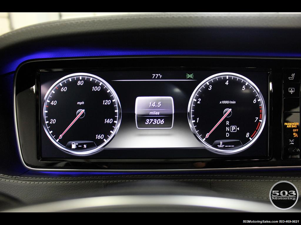 2014 Mercedes-Benz S550; One Owner Iridium Silver/Black w/ 38k Miles! - Photo 24 - Beaverton, OR 97005