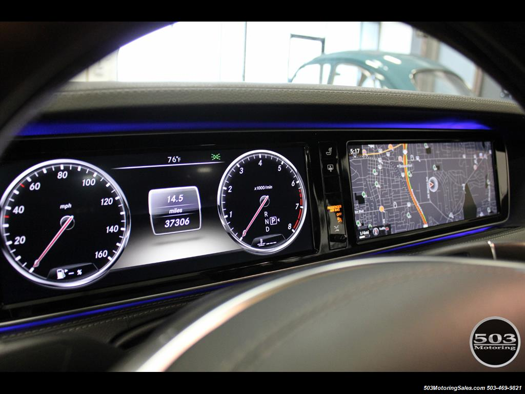 2014 Mercedes-Benz S550; One Owner Iridium Silver/Black w/ 38k Miles! - Photo 26 - Beaverton, OR 97005