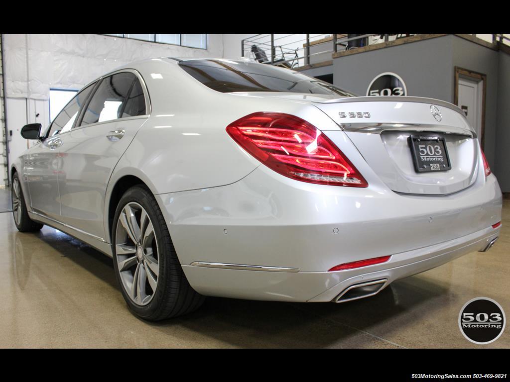 2014 Mercedes-Benz S550; One Owner Iridium Silver/Black w/ 38k Miles! - Photo 3 - Beaverton, OR 97005