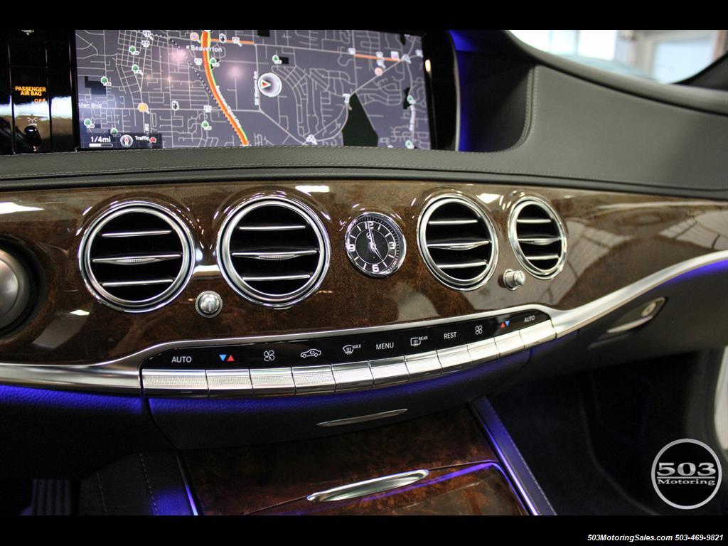 2014 Mercedes-Benz S550; One Owner Iridium Silver/Black w/ 38k Miles! - Photo 27 - Beaverton, OR 97005