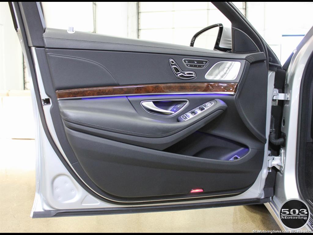 2014 Mercedes-Benz S550; One Owner Iridium Silver/Black w/ 38k Miles! - Photo 31 - Beaverton, OR 97005