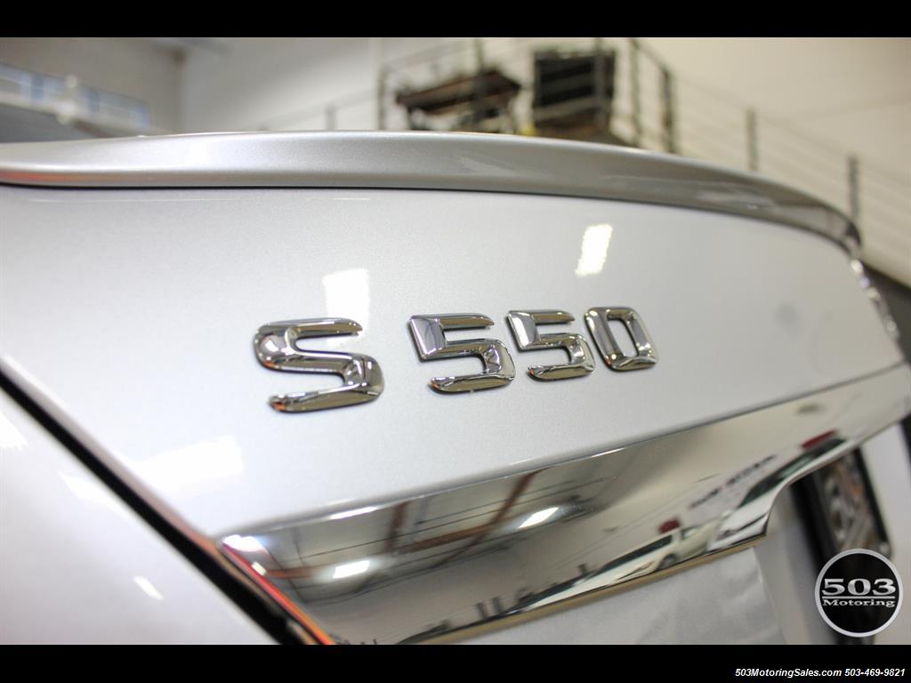 2014 Mercedes-Benz S550; One Owner Iridium Silver/Black w/ 38k Miles! - Photo 17 - Beaverton, OR 97005