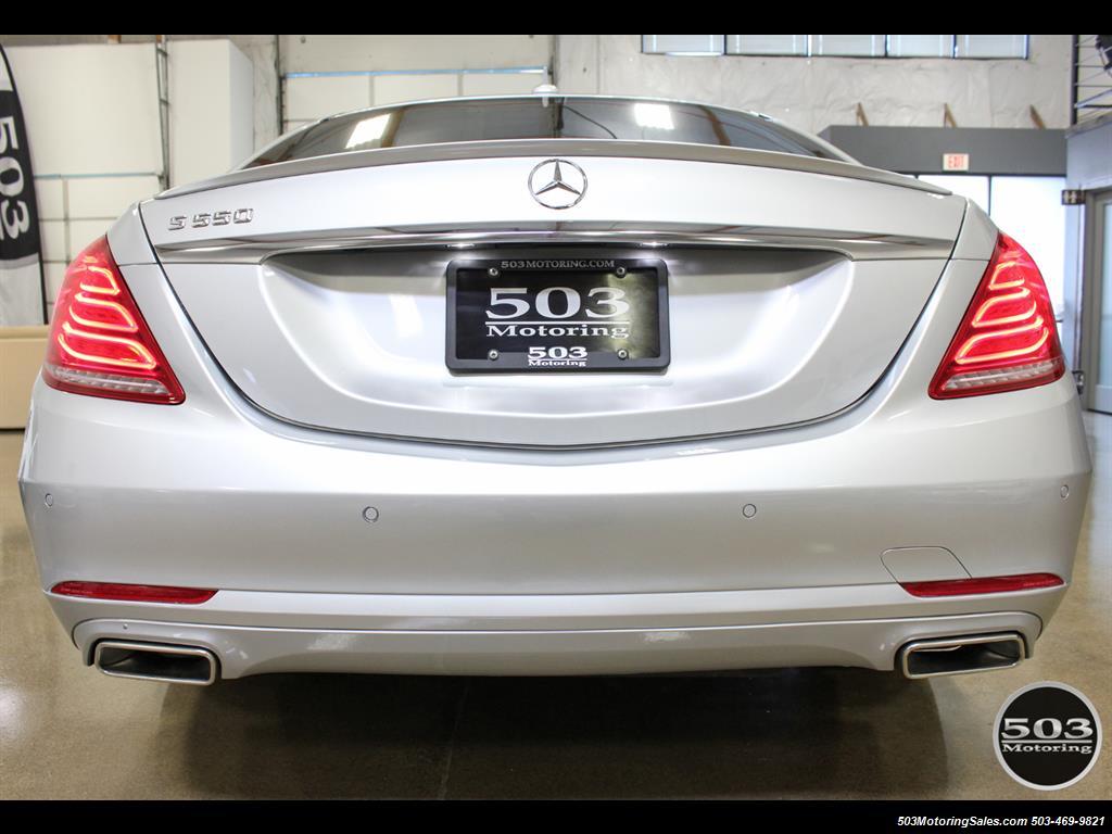 2014 Mercedes-Benz S550; One Owner Iridium Silver/Black w/ 38k Miles! - Photo 4 - Beaverton, OR 97005