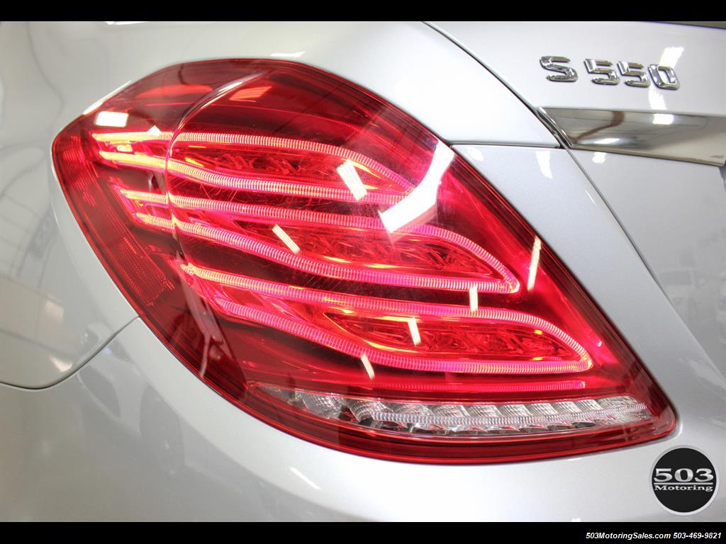 2014 Mercedes-Benz S550; One Owner Iridium Silver/Black w/ 38k Miles! - Photo 18 - Beaverton, OR 97005