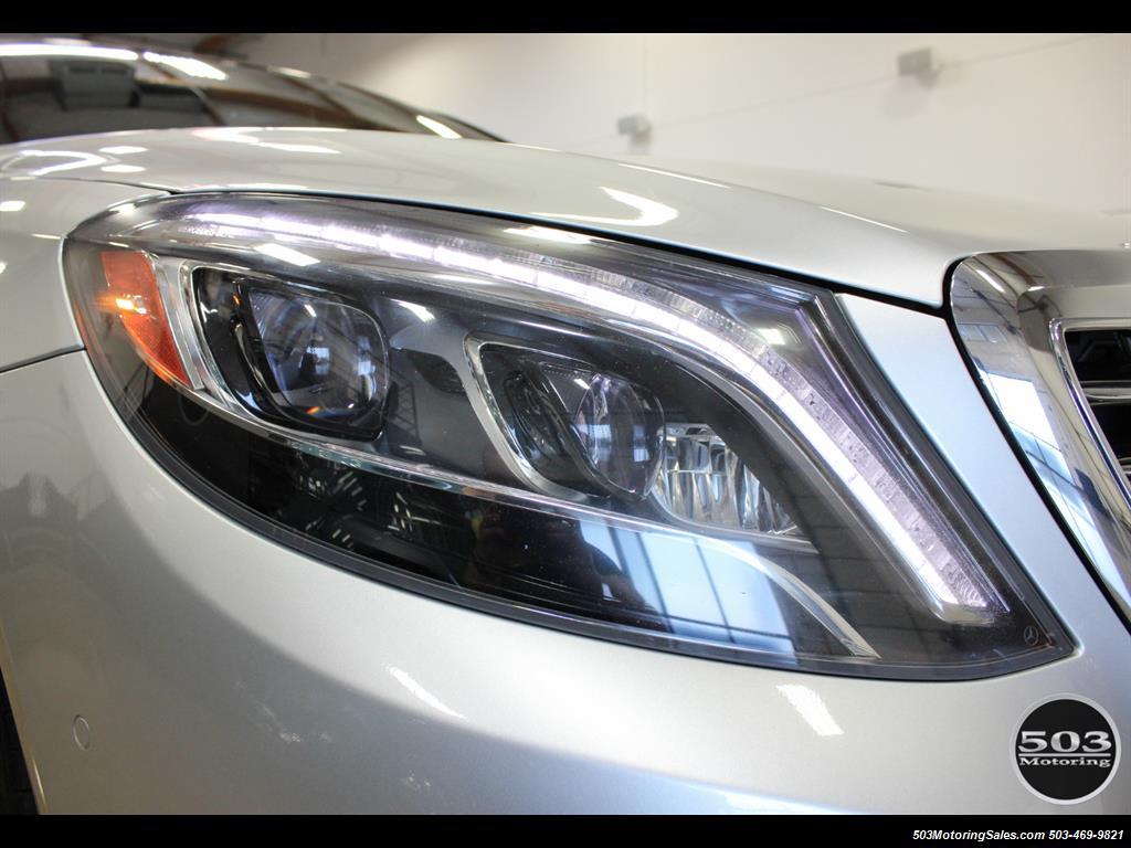 2014 Mercedes-Benz S550; One Owner Iridium Silver/Black w/ 38k Miles! - Photo 10 - Beaverton, OR 97005
