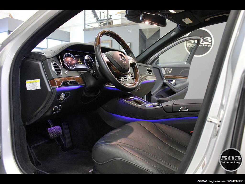 2014 Mercedes-Benz S550; One Owner Iridium Silver/Black w/ 38k Miles! - Photo 21 - Beaverton, OR 97005