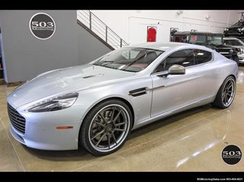 2014 Aston Martin Rapide S Skyfall Silver One Owner w/ Less than 12k Miles Sedan