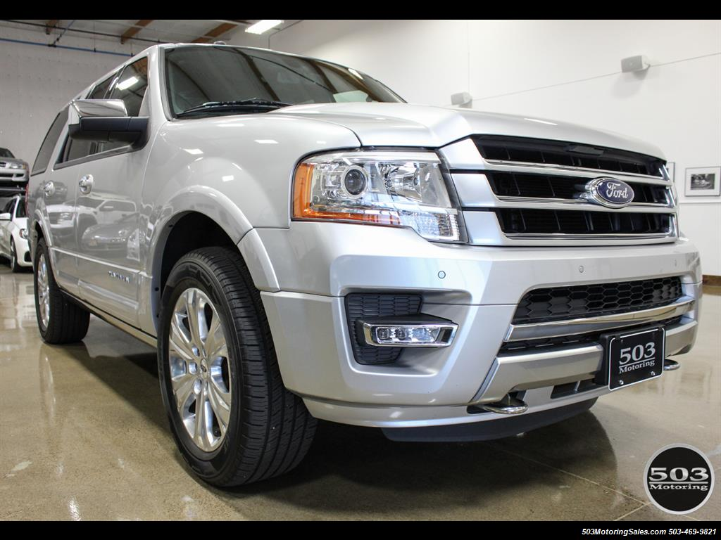 2017 Ford Expedition Platinum 4x4; Silver/Black w/ Only 7k Miles! - Photo 7 - Beaverton, OR 97005