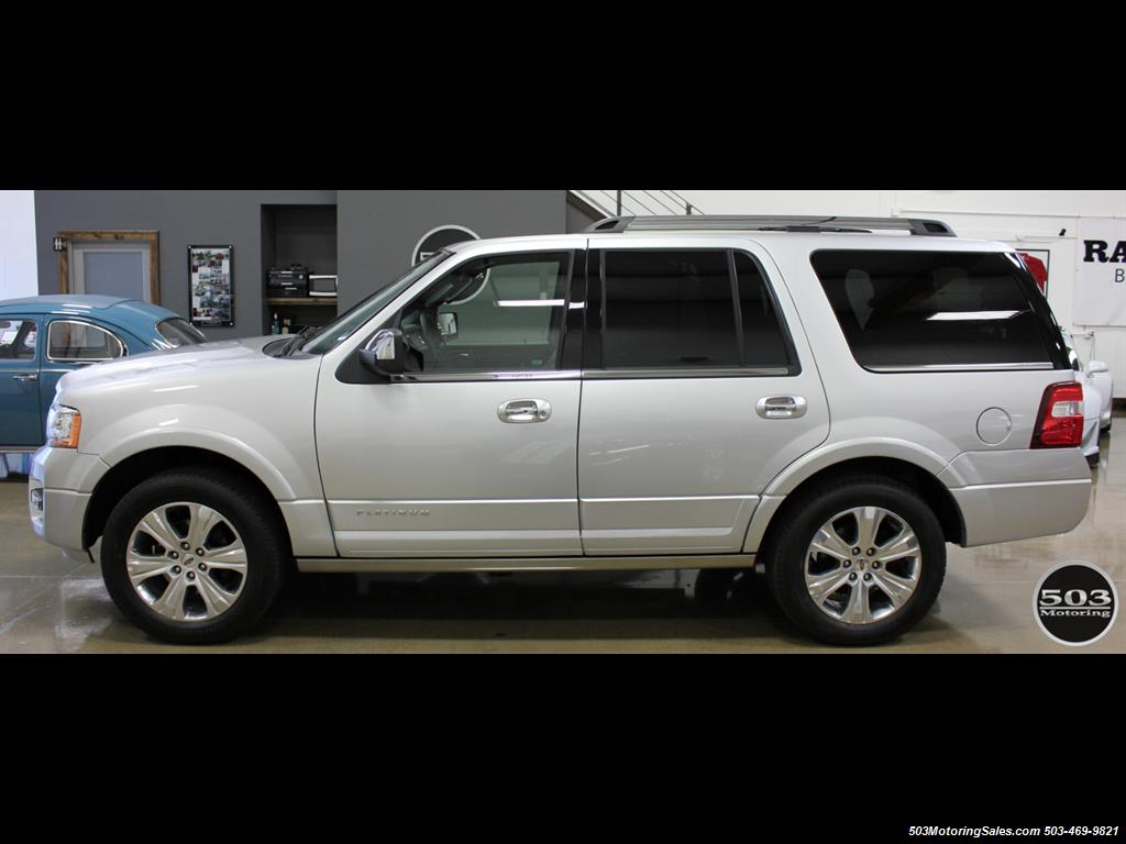 2017 Ford Expedition Platinum 4x4; Silver/Black w/ Only 7k Miles! - Photo 2 - Beaverton, OR 97005