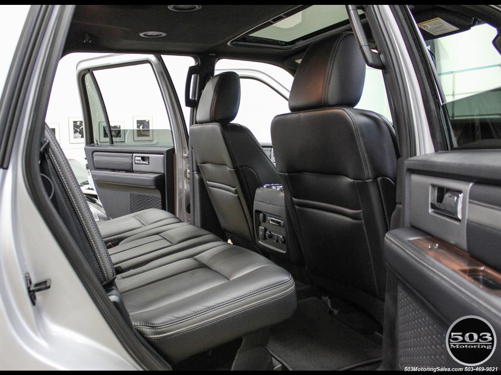 2017 Ford Expedition Platinum 4x4; Silver/Black w/ Only 7k Miles! - Photo 45 - Beaverton, OR 97005