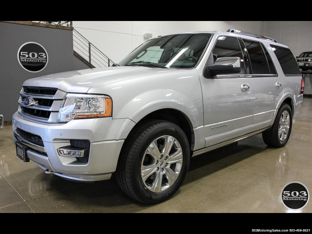 2017 Ford Expedition Platinum 4x4; Silver/Black w/ Only 7k Miles! - Photo 1 - Beaverton, OR 97005