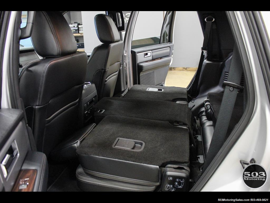 2017 Ford Expedition Platinum 4x4; Silver/Black w/ Only 7k Miles! - Photo 43 - Beaverton, OR 97005