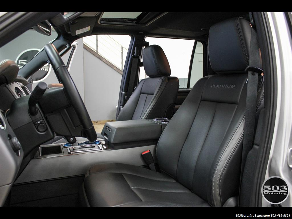 2017 Ford Expedition Platinum 4x4; Silver/Black w/ Only 7k Miles! - Photo 26 - Beaverton, OR 97005