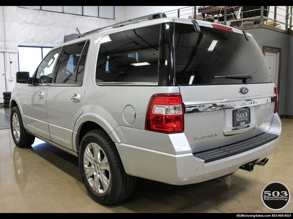 2017 Ford Expedition Platinum 4x4; Silver/Black w/ Only 7k Miles! - Photo 3 - Beaverton, OR 97005