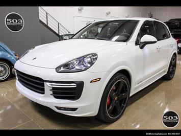 2016 Porsche Cayenne GTS; White/Black w/ Only 9k Miles! SUV