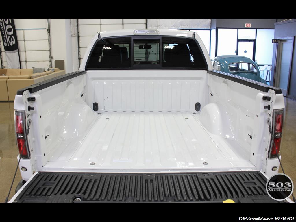 2010 Ford F-150 SVT Raptor; White/Black w/ Only 17k Miles! - Photo 50 - Beaverton, OR 97005