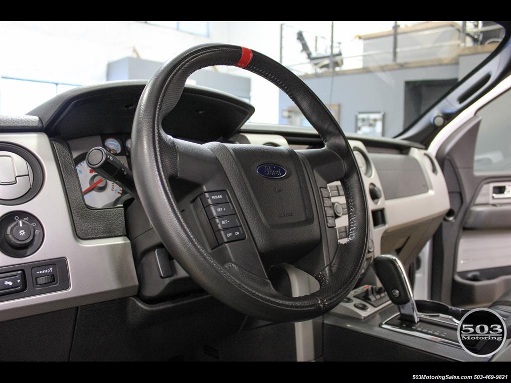 2010 Ford F-150 SVT Raptor; White/Black w/ Only 17k Miles! - Photo 26 - Beaverton, OR 97005