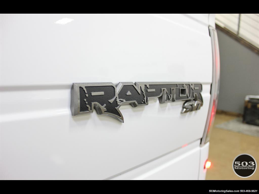 2010 Ford F-150 SVT Raptor; White/Black w/ Only 17k Miles! - Photo 17 - Beaverton, OR 97005