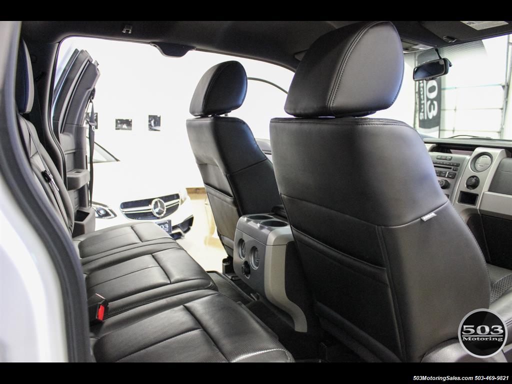 2010 Ford F-150 SVT Raptor; White/Black w/ Only 17k Miles! - Photo 46 - Beaverton, OR 97005