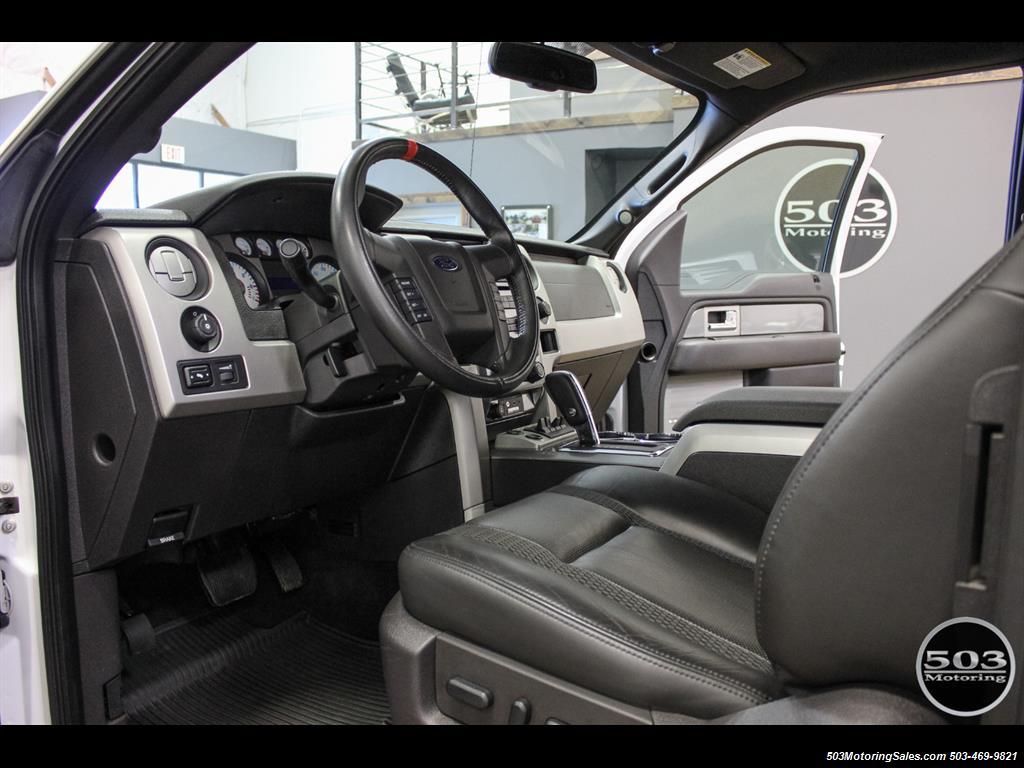 2010 Ford F-150 SVT Raptor; White/Black w/ Only 17k Miles! - Photo 25 - Beaverton, OR 97005