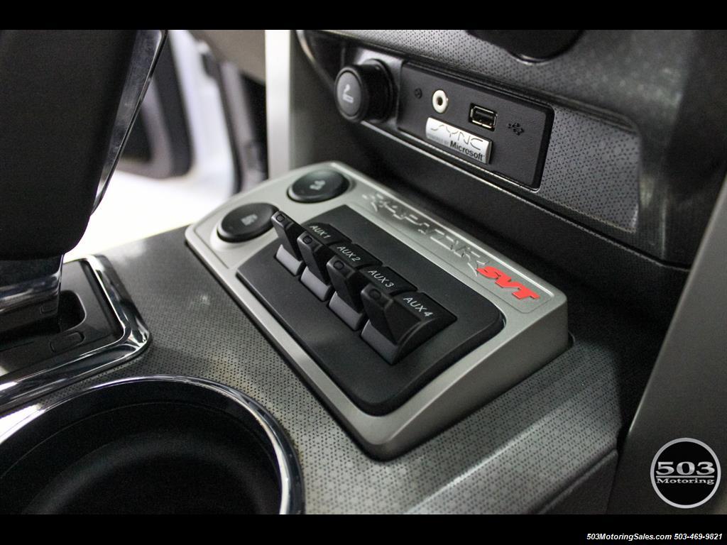 2010 Ford F-150 SVT Raptor; White/Black w/ Only 17k Miles! - Photo 34 - Beaverton, OR 97005
