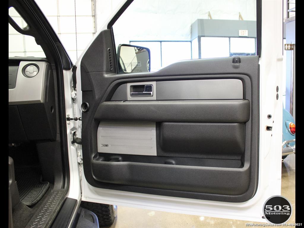 2010 Ford F-150 SVT Raptor; White/Black w/ Only 17k Miles! - Photo 41 - Beaverton, OR 97005