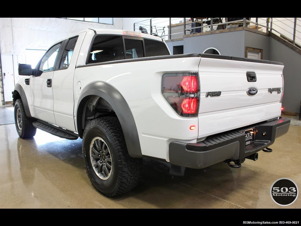 2010 Ford F-150 SVT Raptor; White/Black w/ Only 17k Miles! - Photo 3 - Beaverton, OR 97005