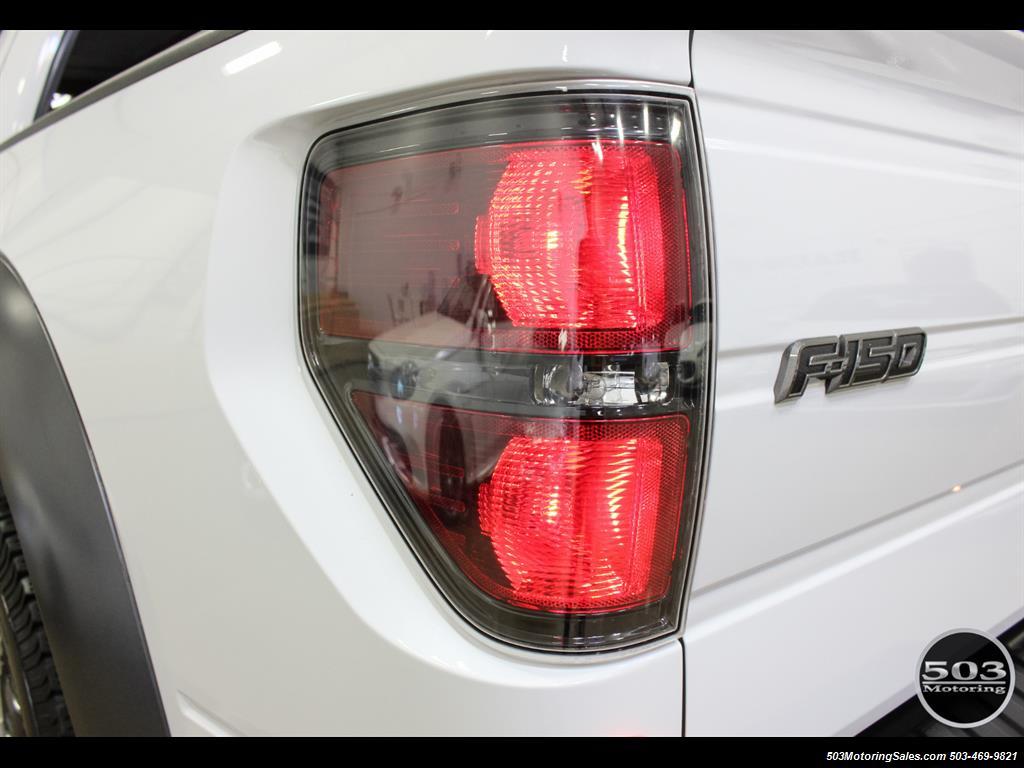 2010 Ford F-150 SVT Raptor; White/Black w/ Only 17k Miles! - Photo 18 - Beaverton, OR 97005