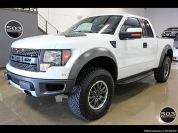 2010 Ford F-150 SVT Raptor; White/Black w/ Only 17k Miles! Truck