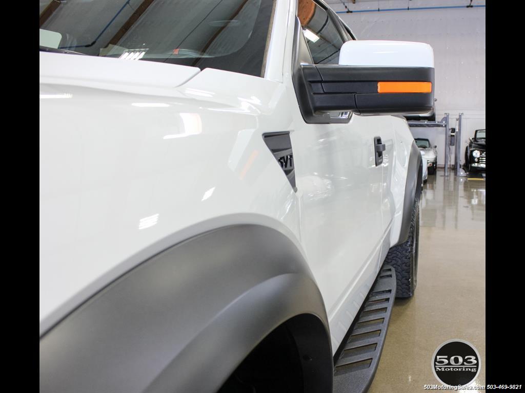 2010 Ford F-150 SVT Raptor; White/Black w/ Only 17k Miles! - Photo 14 - Beaverton, OR 97005