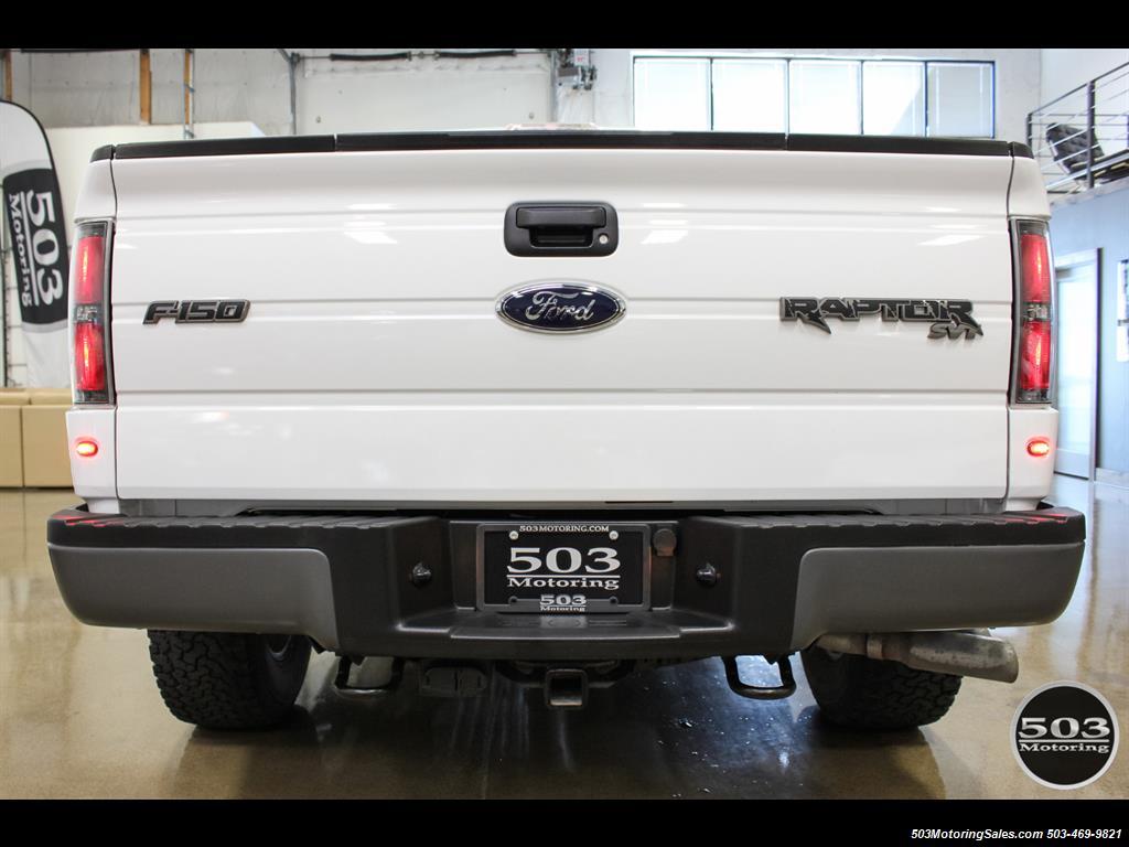 2010 Ford F-150 SVT Raptor; White/Black w/ Only 17k Miles! - Photo 6 - Beaverton, OR 97005