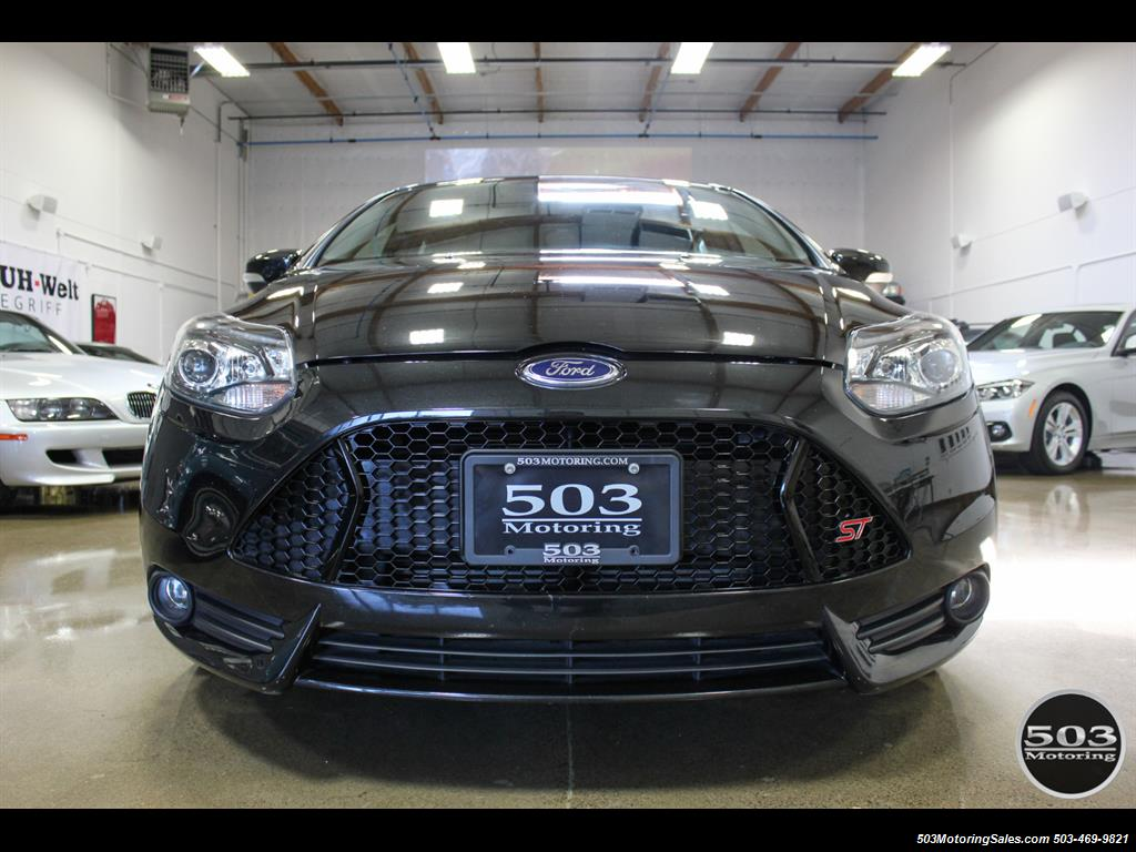 2014 Ford Focus ST; One Owner, Loaded Tuxedo Black/Black! - Photo 8 - Beaverton, OR 97005