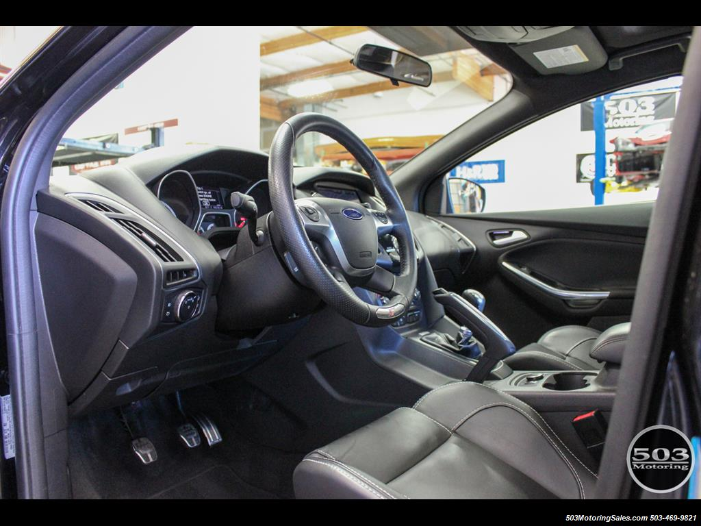 2014 Ford Focus ST; One Owner, Loaded Tuxedo Black/Black! - Photo 25 - Beaverton, OR 97005