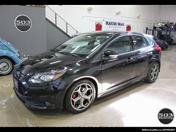 2014 Ford Focus ST; One Owner, Loaded Tuxedo Black/Black! Hatchback
