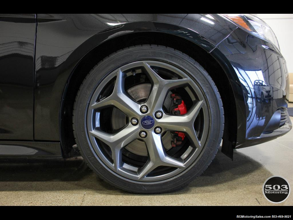 2014 Ford Focus ST; One Owner, Loaded Tuxedo Black/Black! - Photo 24 - Beaverton, OR 97005