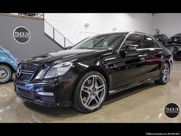 2012 Mercedes-Benz E63 AMG, Black/Black, less than 48k Miles!