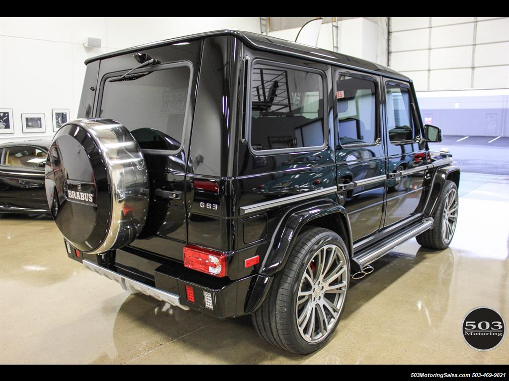 2016 mercedes benz amg g63 black black brabus w only for Mercedes benz g63 amg suv