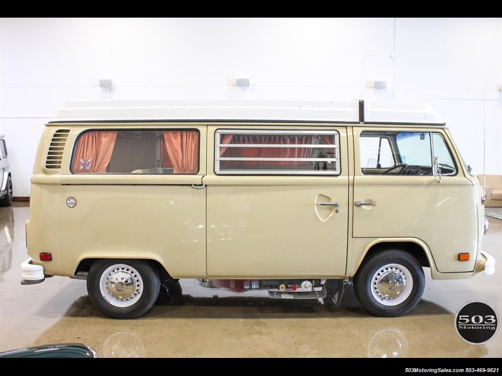 1978 volkswagen bus vanagon westfalia. Black Bedroom Furniture Sets. Home Design Ideas