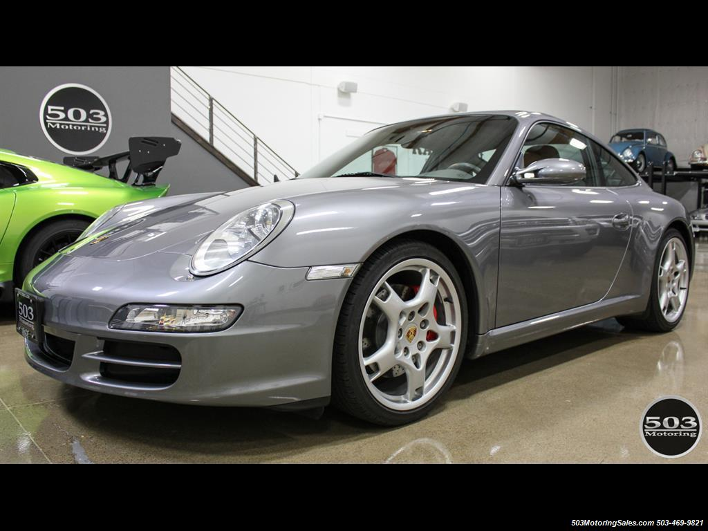 2005 Porsche 911 Carrera S; Well Specced Seal Grey w/ 48k Miles! - Photo 1 - Beaverton, OR 97005
