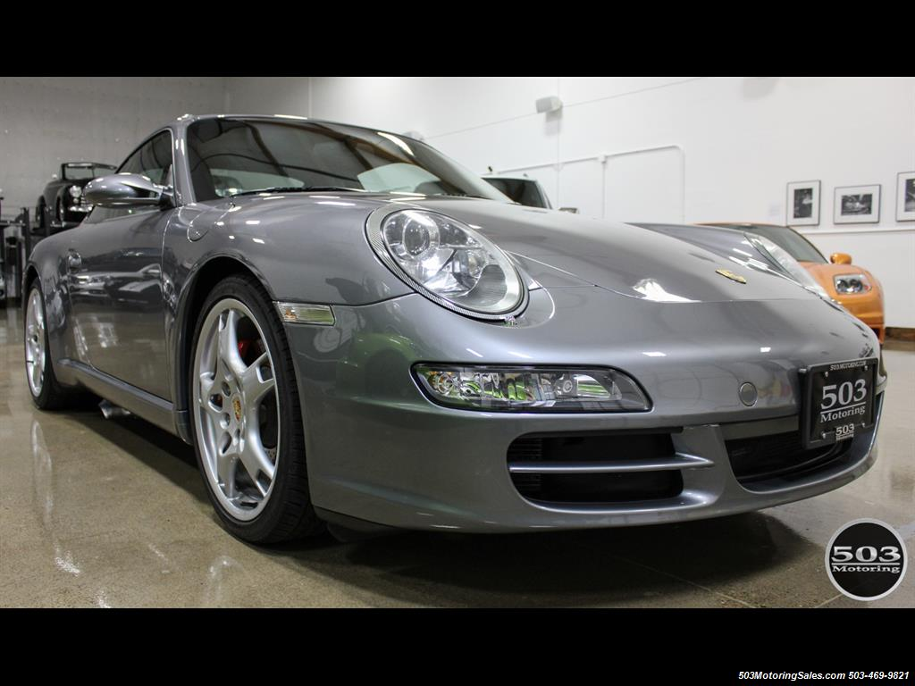 2005 Porsche 911 Carrera S; Well Specced Seal Grey w/ 48k Miles! - Photo 7 - Beaverton, OR 97005